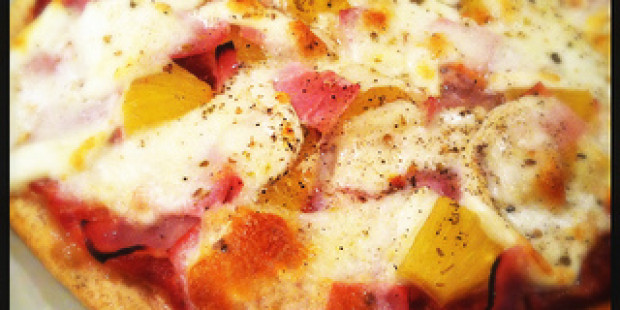 Suppersnelle Pizza Hawaï
