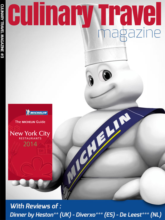 Culinary Travel Magazine 3 - met updates over de Michelin restaurants 2014
