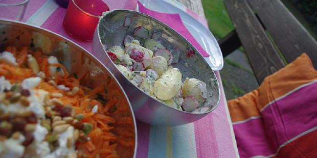 Aardappelsalade met Radijsjes