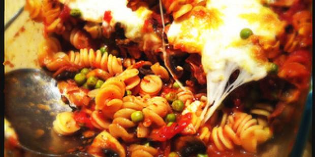 [Recept] Spicy Fusilli met San Daniele uit de Oven