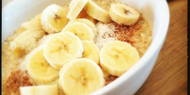 [Voedselzandloper Recept] Havermout met Banaan en Kokos