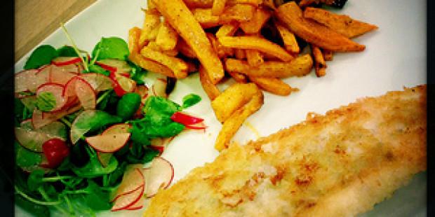 [Gezond Recept] Fish & Sweet Potato Chips
