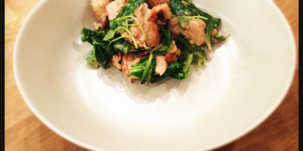 Winterse Salade met Kip en Roquefort Dressing