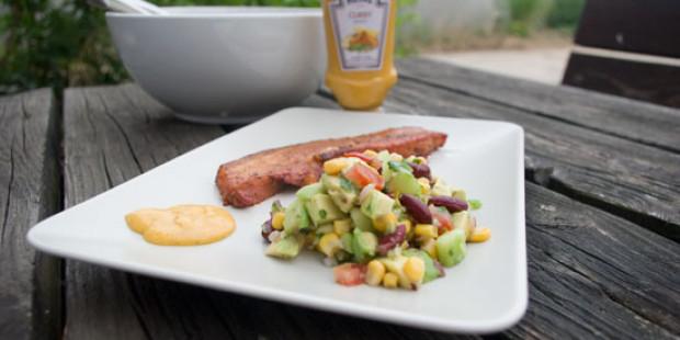 [BBQ] Zwarte Bonen – Avocado Salade