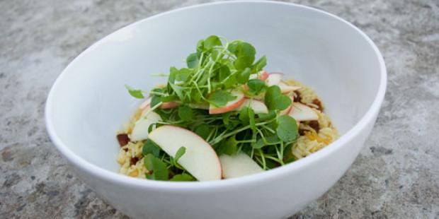 Rijstsalade met Chorizo en Appel