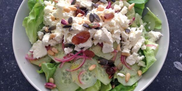 Snelle Griekse Salade